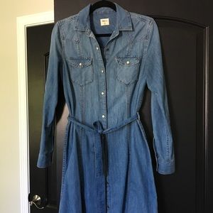 GAP denim dress size S VGUC